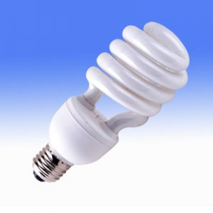 Energy efficient office bulb