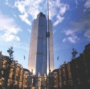 heron tower London office market