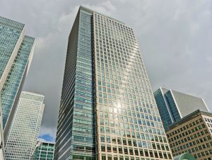 Bank Street office space in Canary Wharf