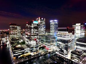 office space in Canary Wharf