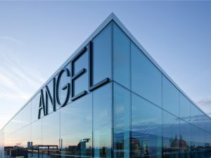 Angel building office space in London's West End