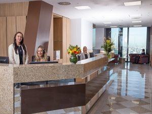 Leadenhall Reception London office space lease