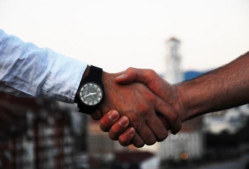 Handshake London shared office space