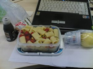 Bringing lunch to offices in London