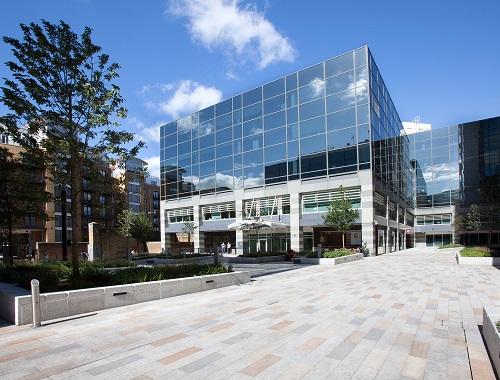 St. Kathernien Dock London office building