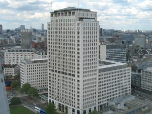 Shell Centre London office lease