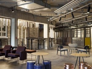 Pancras Square creative space in which to rent offices in London
