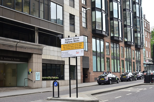 20 st andrews street offices in Central London
