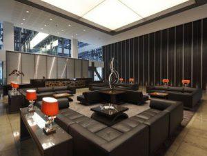 Cannon Street London office lounge