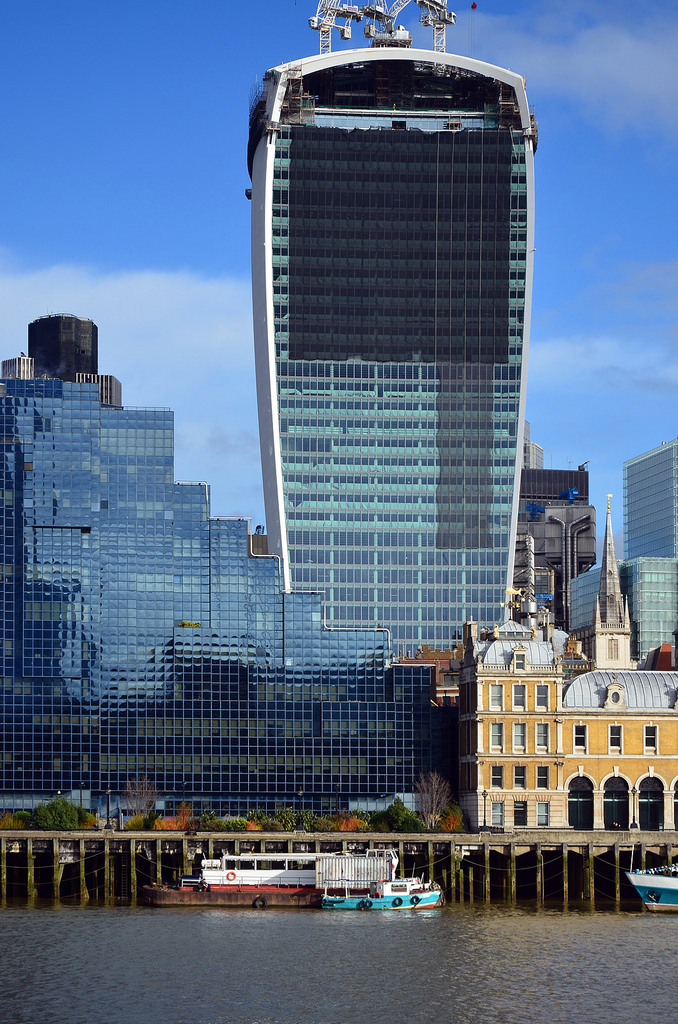 20 Fenchurch Street London office tower exterior