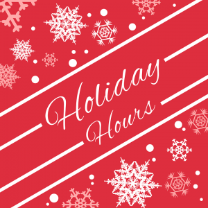 London office space holiday hours