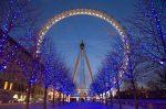 Office in Central London xmas London Eye