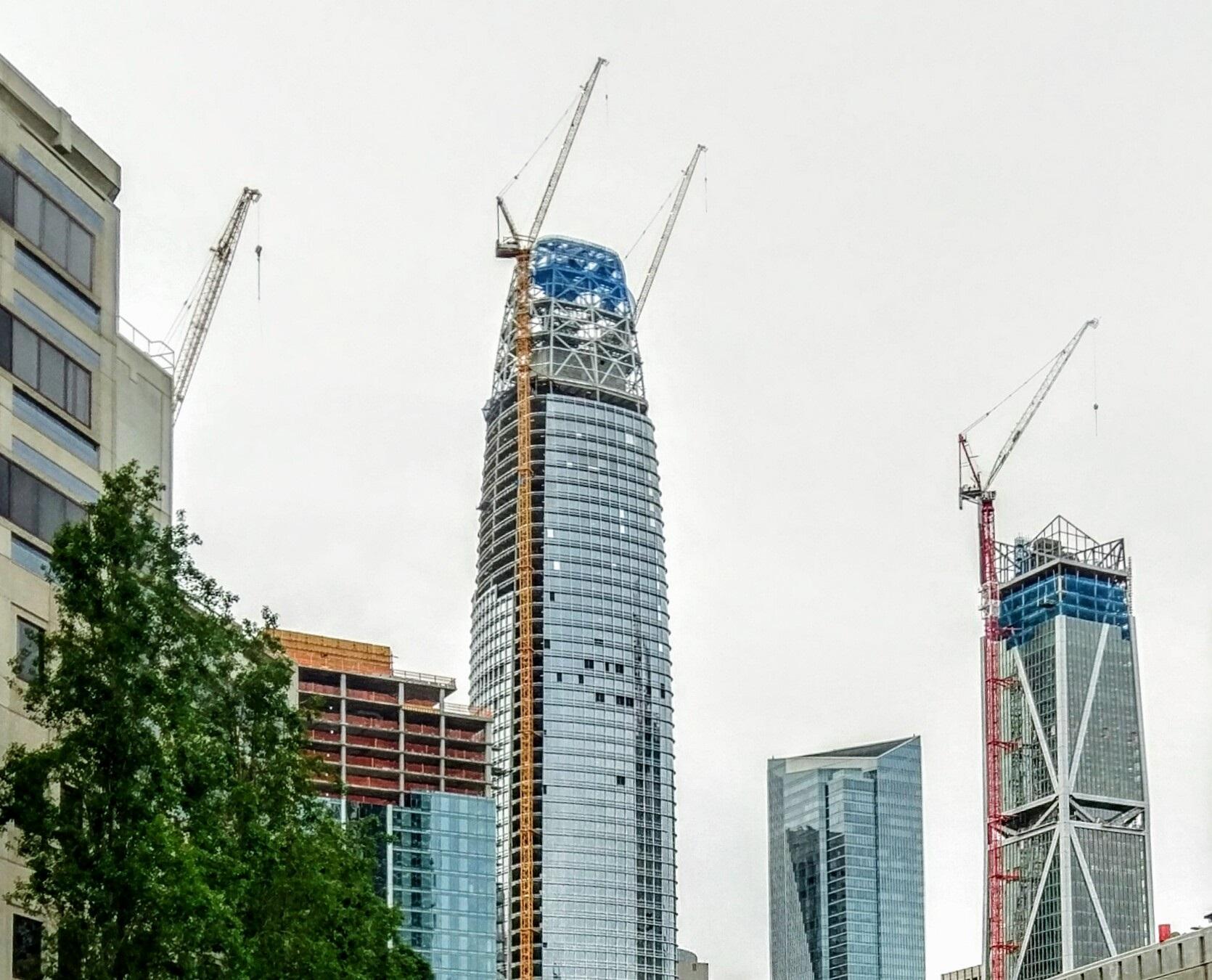 Office space development skyscrapers