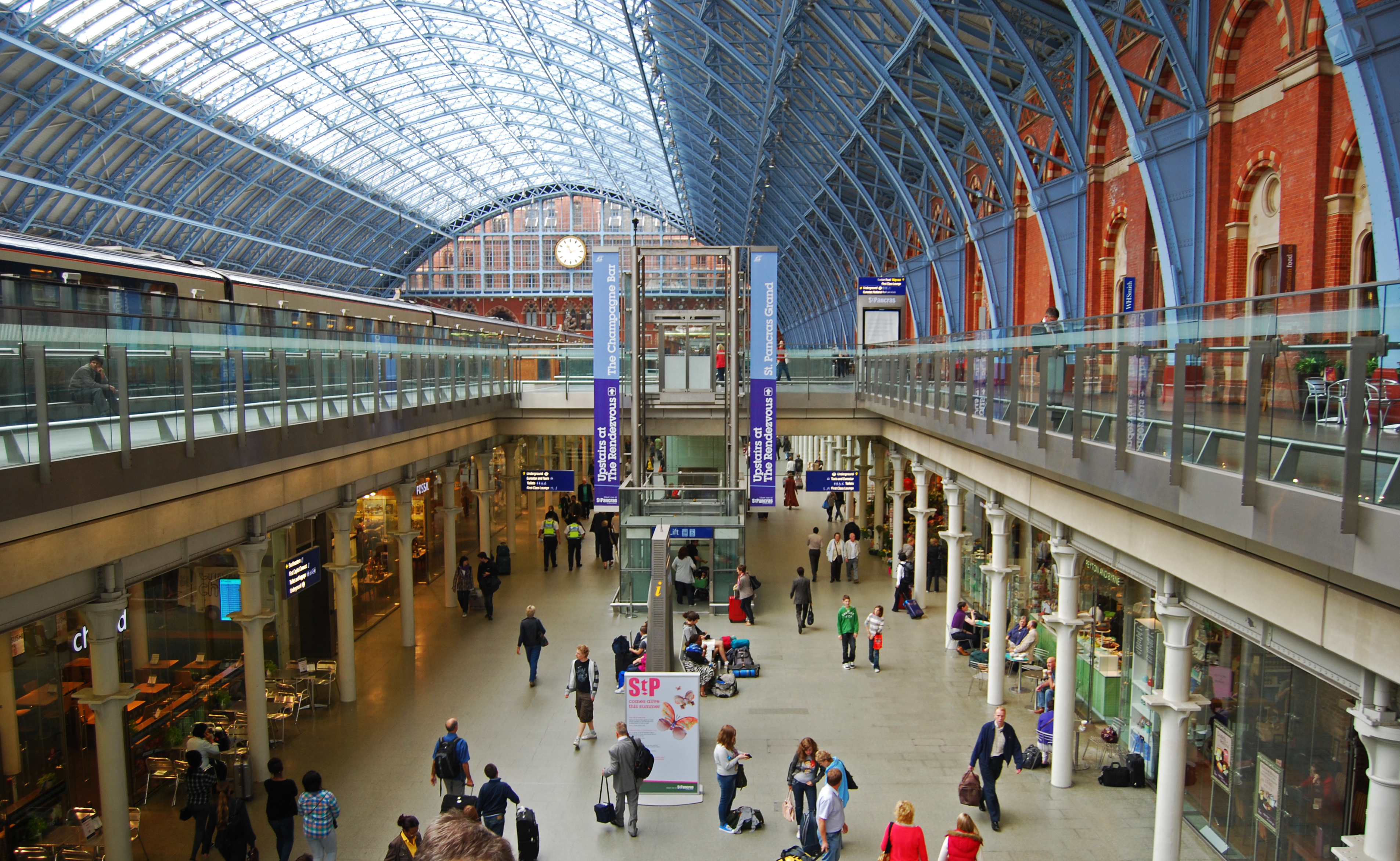 St Pancras Temporary Office Space in London