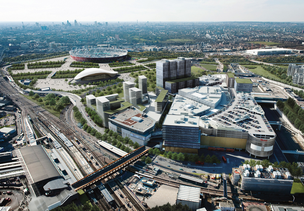 Straford London office developments