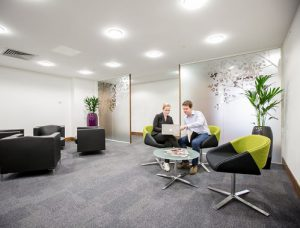 the shortlands office space in Hammersmith breakout