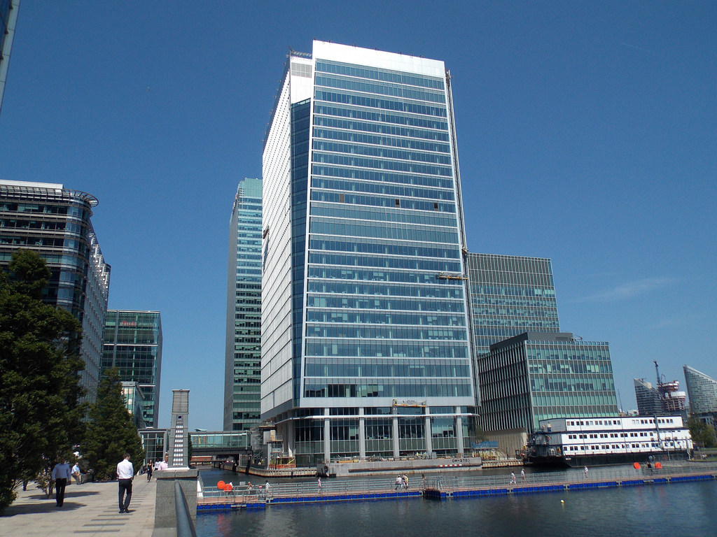 25 Churchill Place Canary Wharf office space 2