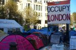 Occupy London in London City Office Block
