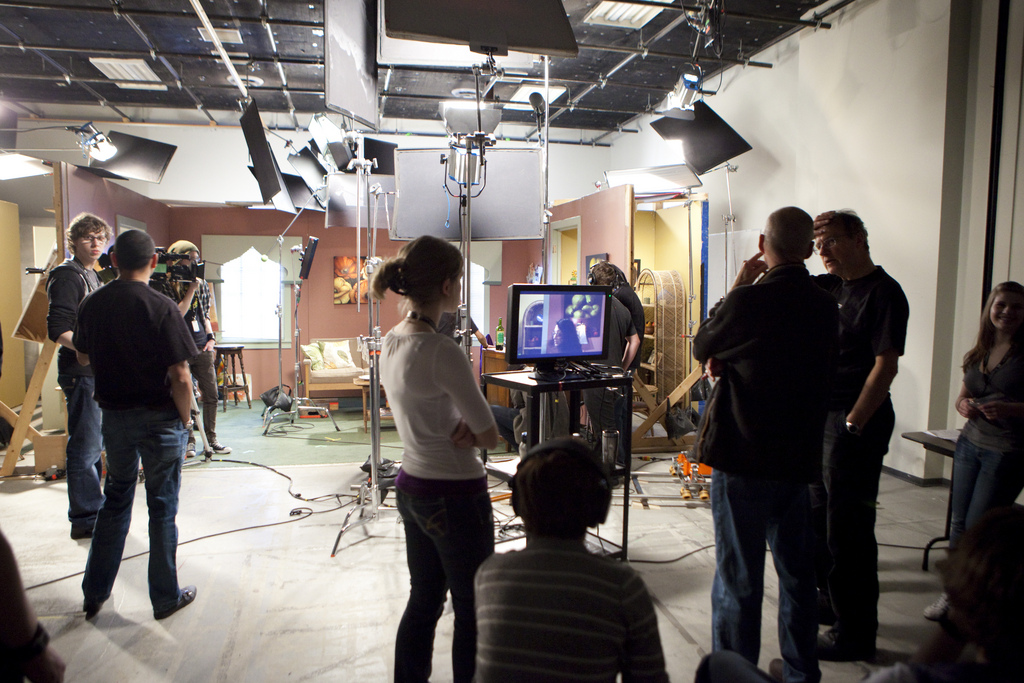 Film shoot studio office space in london
