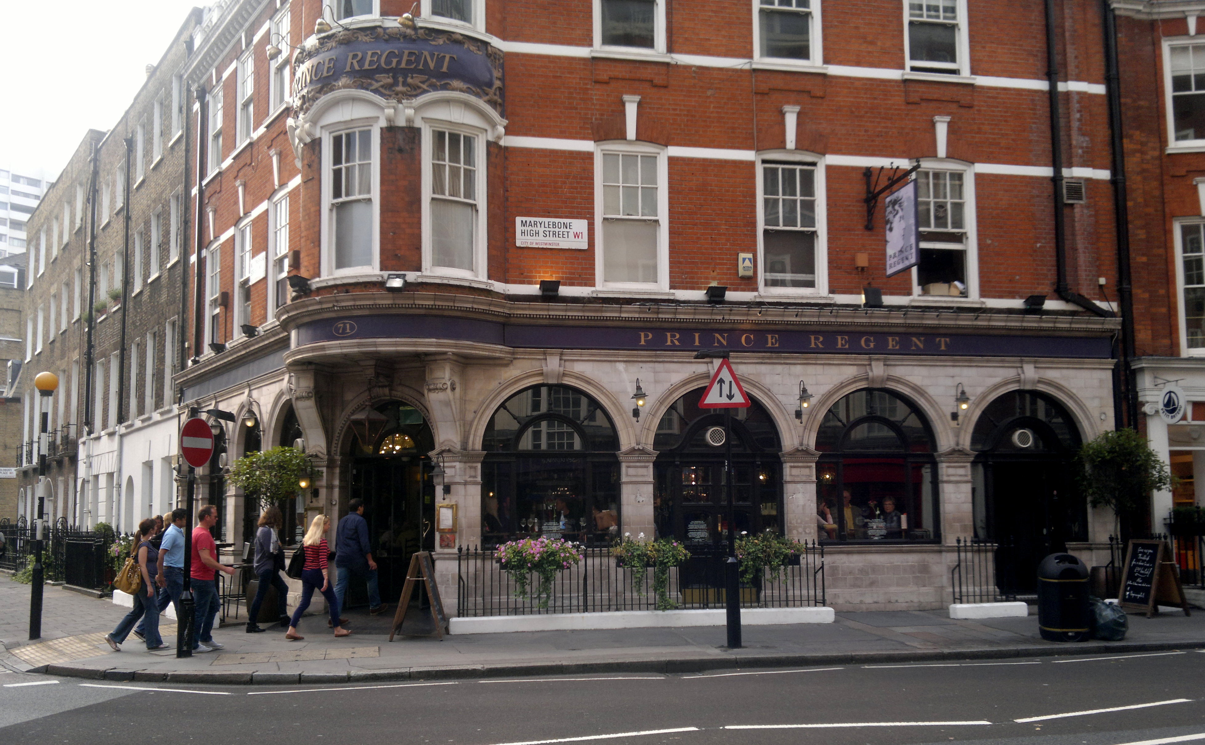 The Prince Regent Hotel west end office space