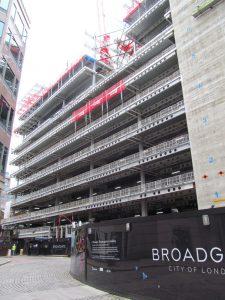 5 Broadgate London office lease