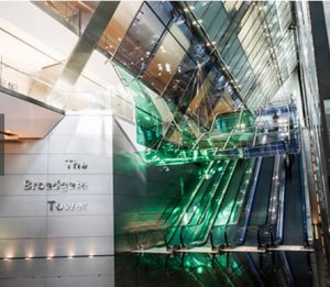 Broadgate Tower managed office space in London