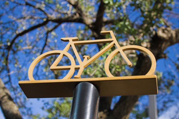 Cycle-Parking-Sign for serviced offices in London