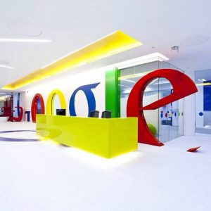Google's office space in London