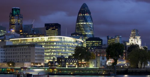 City-of-London-overview of London city office space