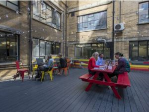 Central London office space Shoreditch roof Terrace