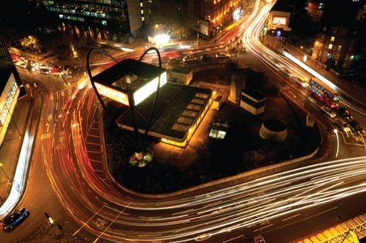 Old Street Roundabout, Tech City office space in Shoreditch