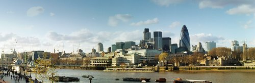 City of London - panoramic