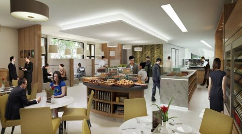 Office Workers Cafe South Kensington offices in London for rent