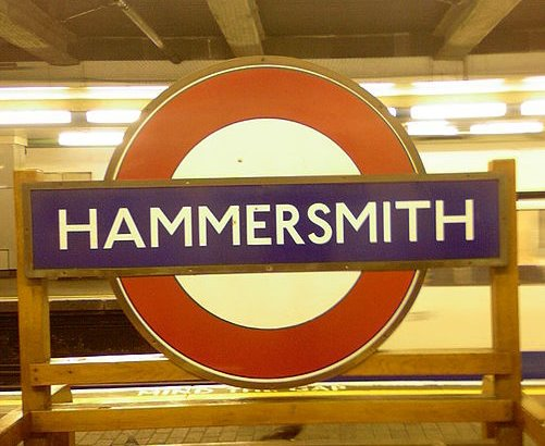 Hammersmith tube to Office Space in West London