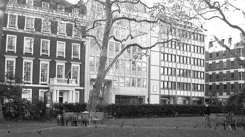 Hanover Square London office space lease
