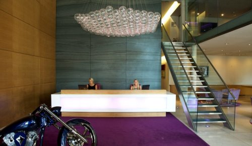 Knightsbridge West London office space Reception