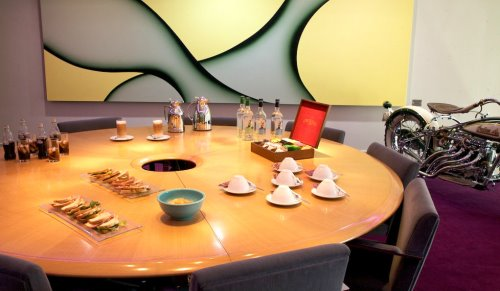 Knightsbridge West London office space Informal Meeting Room