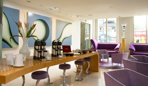 Knightsbridge West London office space Cafe