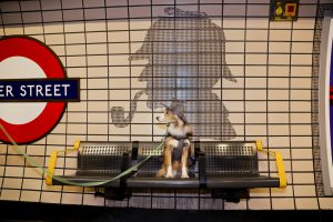 Baker Street tube transport to Office Space in London West End