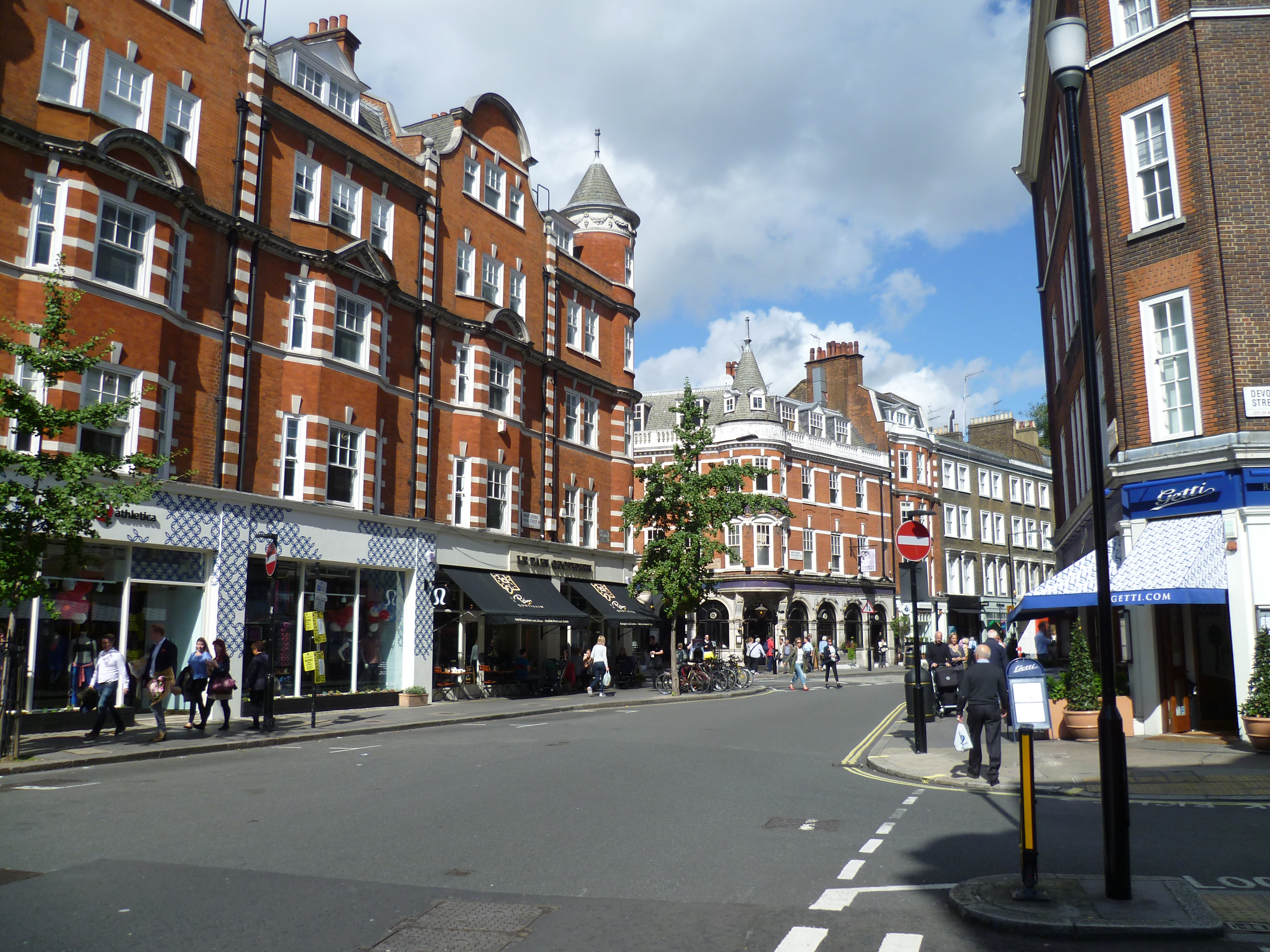 Marylebone_High_Street West End London office market