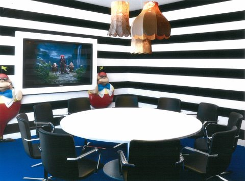 Alice in Wonderland Waterloo offices meeting room