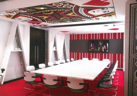office space in Central London Waterloo boardroom