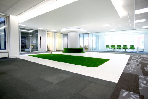 The Putting Green co-working offices in London for rent