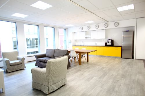 Coworking offices in London for rent - kitchen