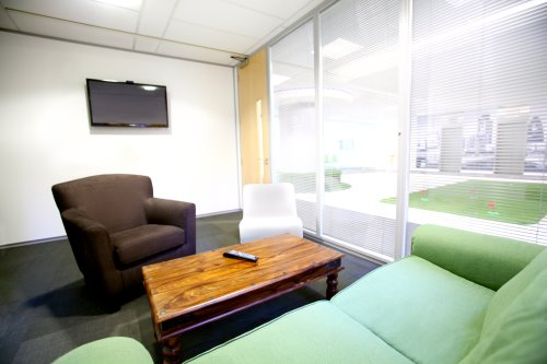 Coworking offices in London for rent - lounge