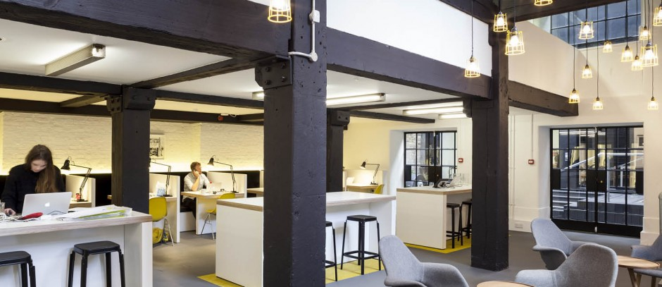 Serviced offices in Shoreditch