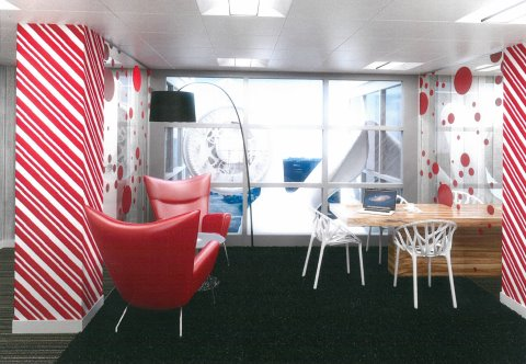 Breakout space in SE1 serviced offices