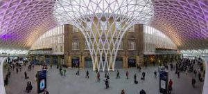 Kings Cross Station encoraging businesses to rent offices in London