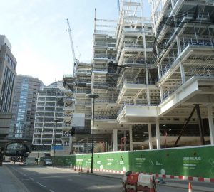 London Wall Place Office Rental in London Construction