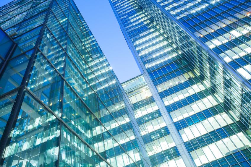 Skyscraper in City of London FinTech scene